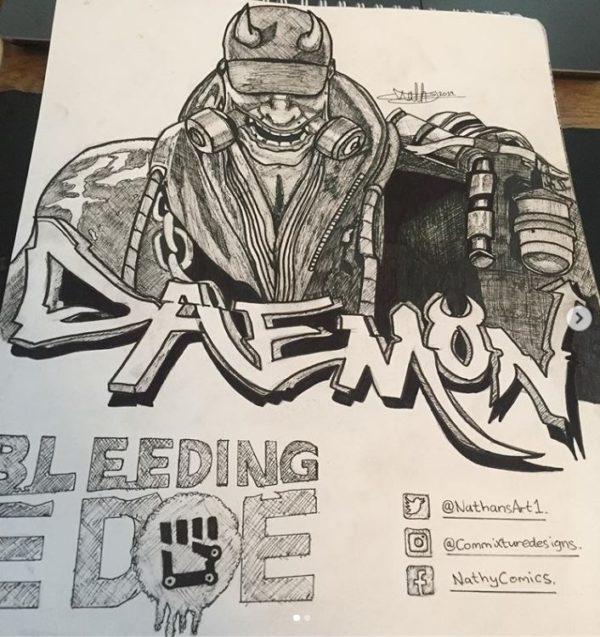 DaemonFanArt
